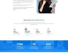 #32 para DESING MY WEBSITE WITH MOCKUPS por bluebellgraphic