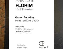 #5 for Labels for Stone Display Cabinet be designed - Potential for Continued Work af developingzone