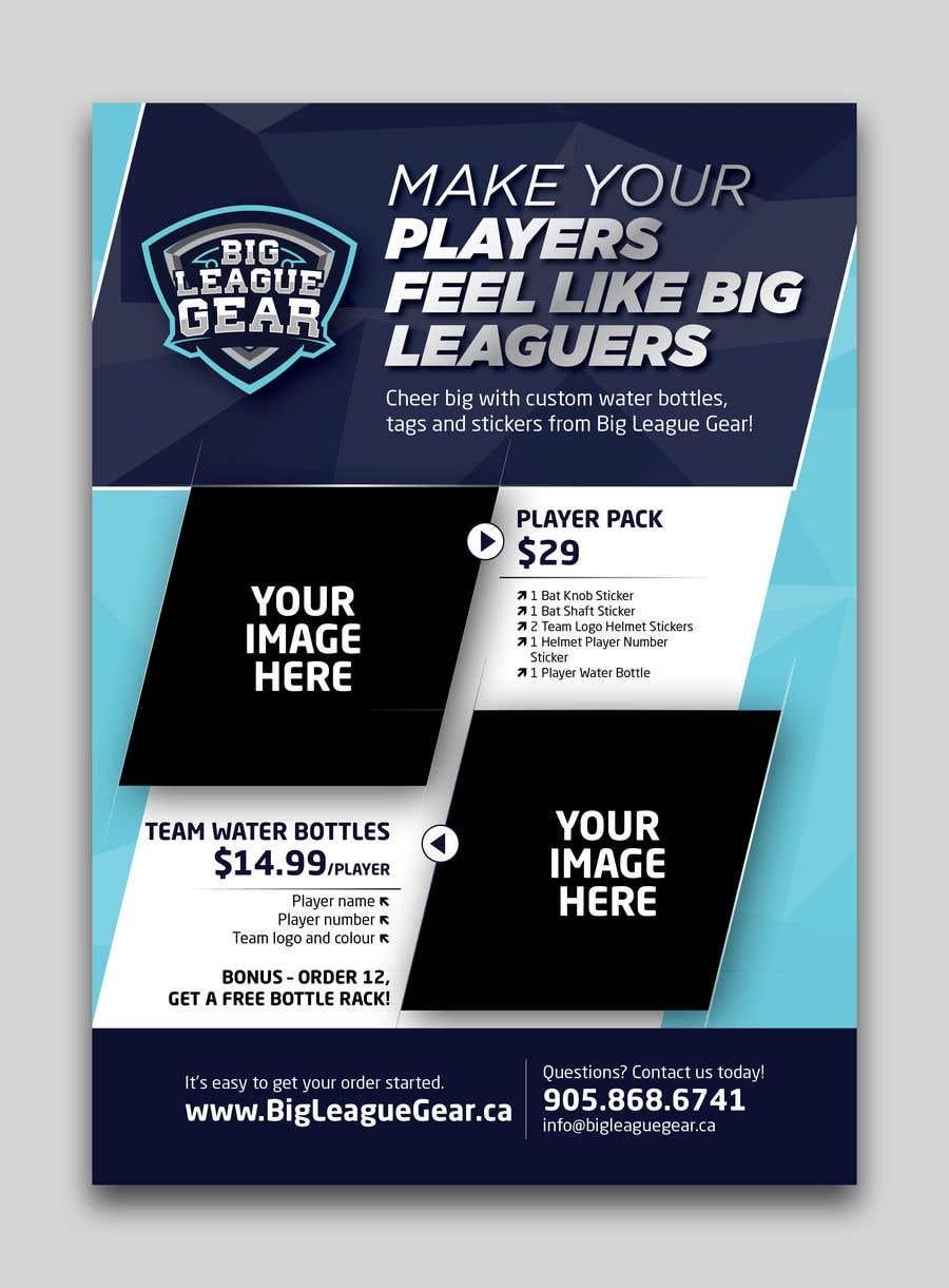 Konkurrenceindlæg #32 for Create a flyer for Big League Gear