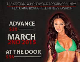 #7 for Design a Flyer for a Hollywood Fitness Party af joshuacorby2014