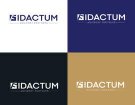 #108 для Minimalistic logo/fond design FIDACTUM от nazzasi69