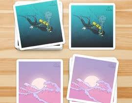 Nro 3 kilpailuun Sticker Design käyttäjältä jamesmahoney98