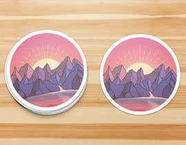 Nro 22 kilpailuun Sticker Design käyttäjältä jamesmahoney98
