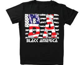 """#20 untuk This """"BA"""" stands for Black America, I wanna put it on the front of a cap and a t-shirt & market it. freedom expression such as font size, color etc. oleh khalilBD2018"""