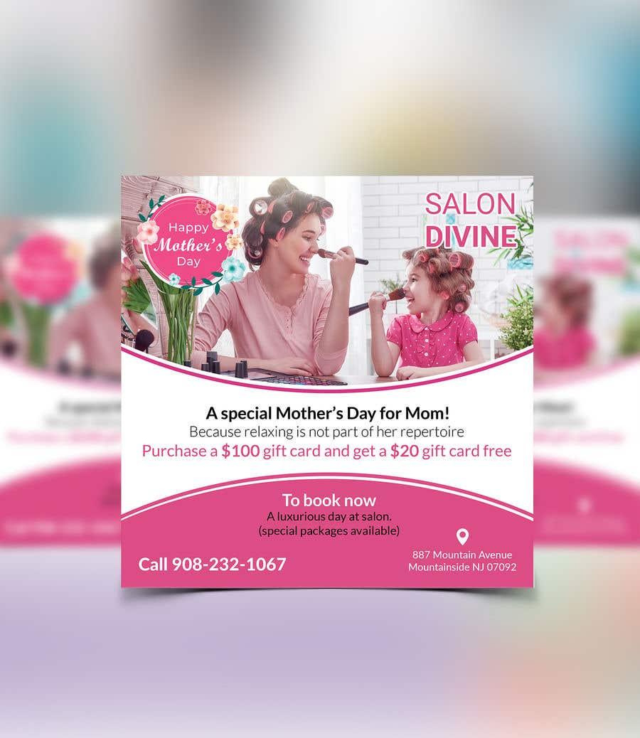 Inscrição nº 39 do Concurso para Poster/Flyer to promote business - Mothers Day