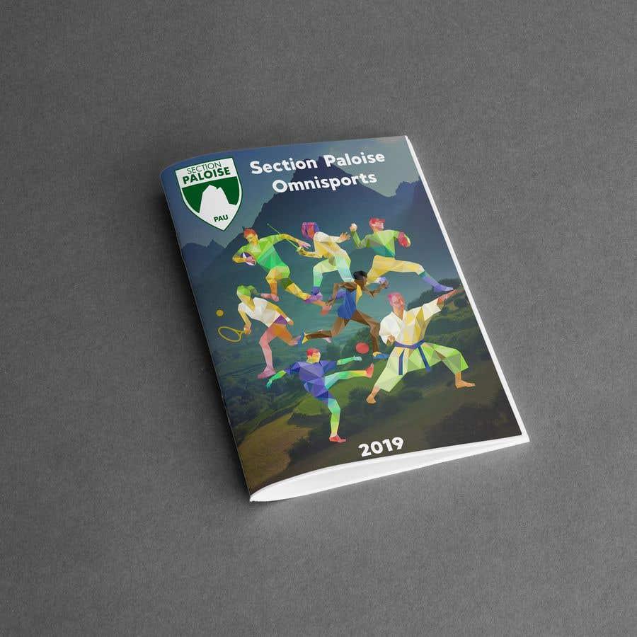 Proposition n°13 du concours Couverture magazine Section Paloise Omnisports