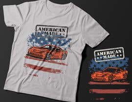#52 for Corvette American Made Tee Shirt by Exer1976