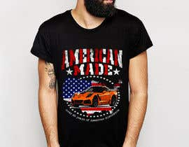#11 for Corvette American Made Tee Shirt by feramahateasril