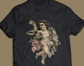 #23 cho Tshirt with Logo of Angel eating Avocado Toast bởi SA2ID