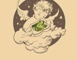 #12 for Tshirt with Logo of Angel eating Avocado Toast af nitinkandhari