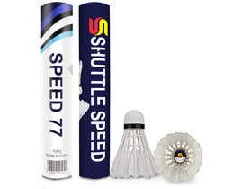 #10 for Design of badminton shuttlecock tube packaging af Sreesujitdeb
