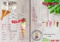 Graphic Design Inscrição do Concurso Nº14 para A5 Menu design for Ice cream, Juice bar