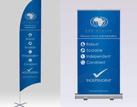 """#32 for Design a """"Banner Flag"""" and """"Pull up Banner"""" for an outdoor event by aliazadaknd"""