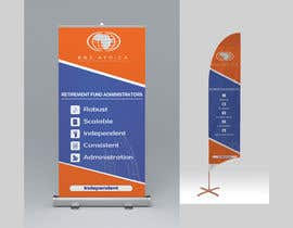 """#43 for Design a """"Banner Flag"""" and """"Pull up Banner"""" for an outdoor event by srranjitkumar487"""