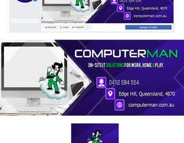 #141 untuk Re-design Facebook business page with Banners & art oleh sxmbrx