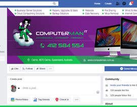 #21 untuk Re-design Facebook business page with Banners & art oleh vinayks