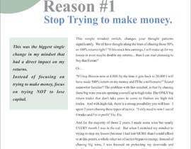 Nro 6 kilpailuun I need eBook Content Pages Designed käyttäjältä yadavsushil