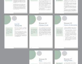 Nro 11 kilpailuun I need eBook Content Pages Designed käyttäjältä yadavsushil