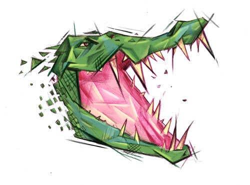 Penyertaan Peraduan #28 untuk Cubist gator