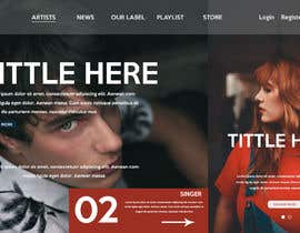 #54 for Design a homepage by EdesignMK