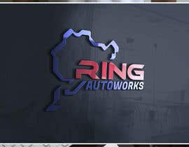 #817 para Logo for Ring Autoworks por mariacastillo67