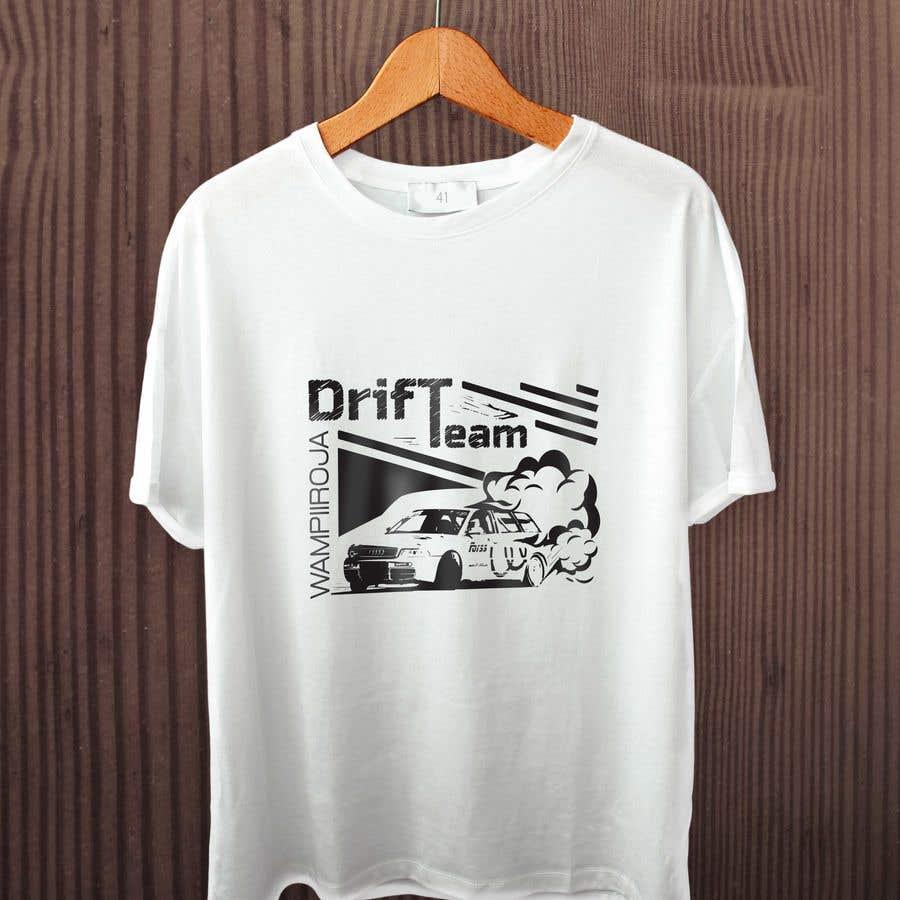 Kilpailutyö #27 kilpailussa Design a Logo/T-shirt/Hoodie for a drift team