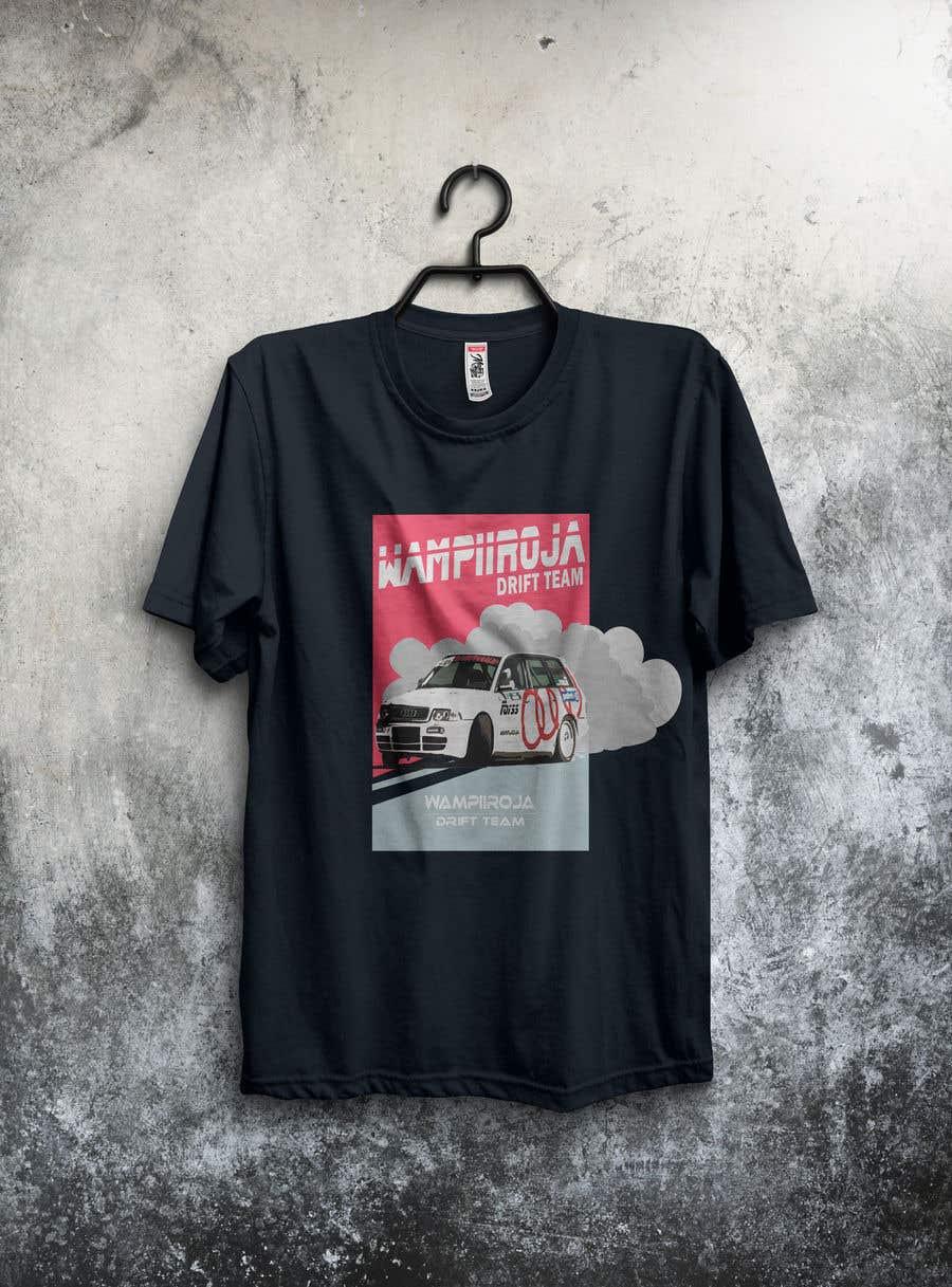 Kilpailutyö #32 kilpailussa Design a Logo/T-shirt/Hoodie for a drift team
