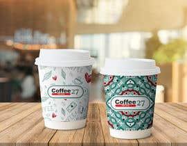 nº 112 pour Paper coffee cup design par spaterson18