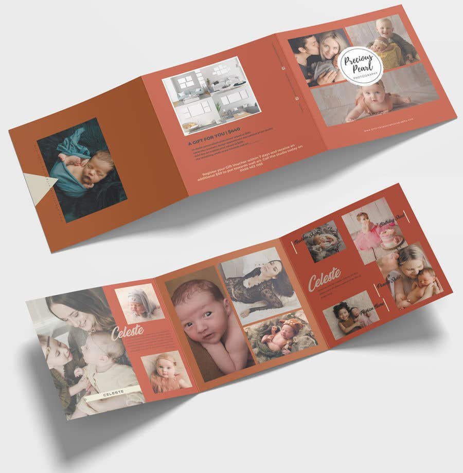 Inscrição nº 14 do Concurso para Design a 5x5 trifold gift voucher with a rustic earthy feel neat and well designed. - 10/04/2019 11:11 EDT