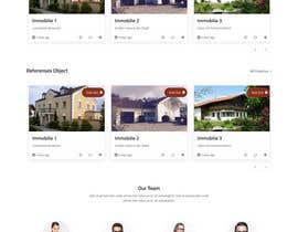 Nro 26 kilpailuun Relaunch of website for real estate in Wordpress käyttäjältä webhazrat
