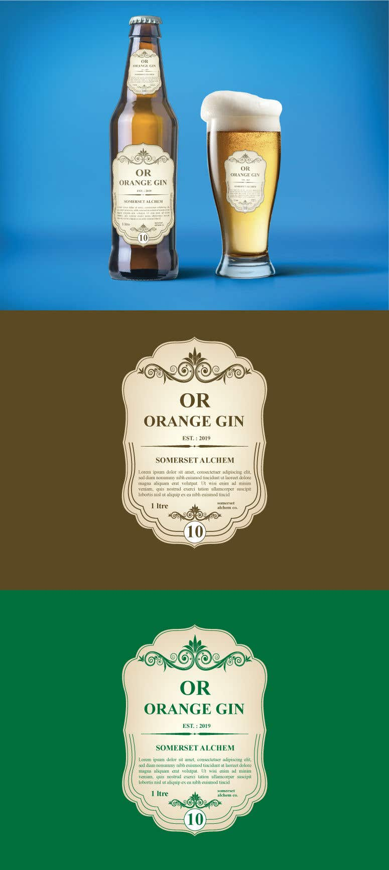 Konkurrenceindlæg #14 for Label for liquor company