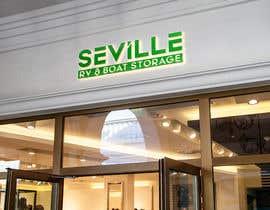 nº 583 pour Seville Boat & RV Storage logo par crazyman543414