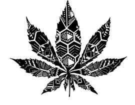 #32 untuk Marijuana Leaf Design oleh shamk9934