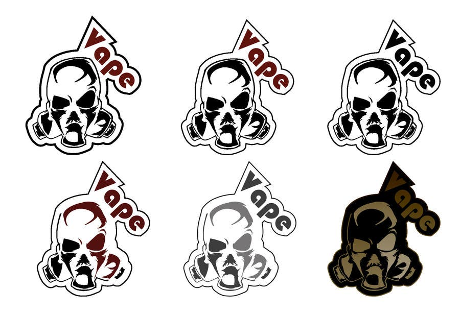 Contest entry 23 for design us a vape sticker to include with our