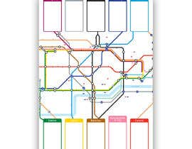 #6 for Design a vintage style London underground wedding seating plan poster by jamesmahoney98
