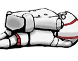 #9 for I need a cartoon drawing of a dead astronaut af AuriArt99