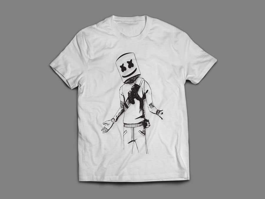 Penyertaan Peraduan #39 untuk Turn The Two Images into SVGs for T-Shirt Design