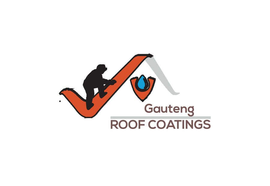 Konkurrenceindlæg #30 for Gauteng Roof Coatings Logo Design