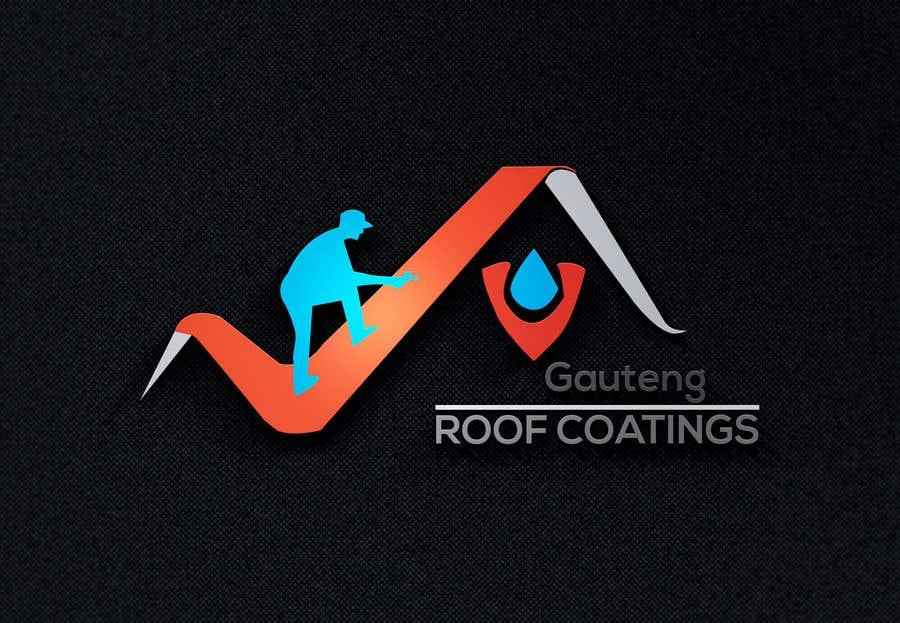 Konkurrenceindlæg #38 for Gauteng Roof Coatings Logo Design