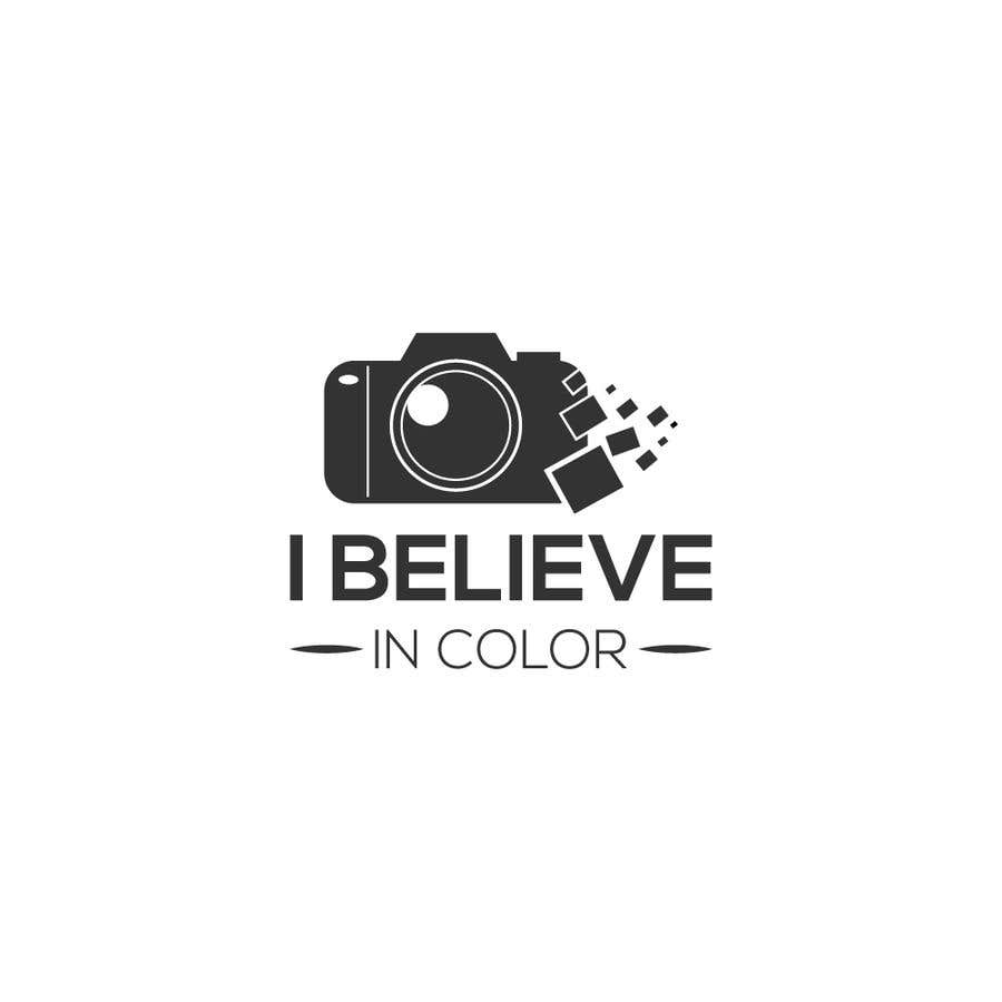 Kilpailutyö #124 kilpailussa Create company logo for video / photography studio. I Believe in Color