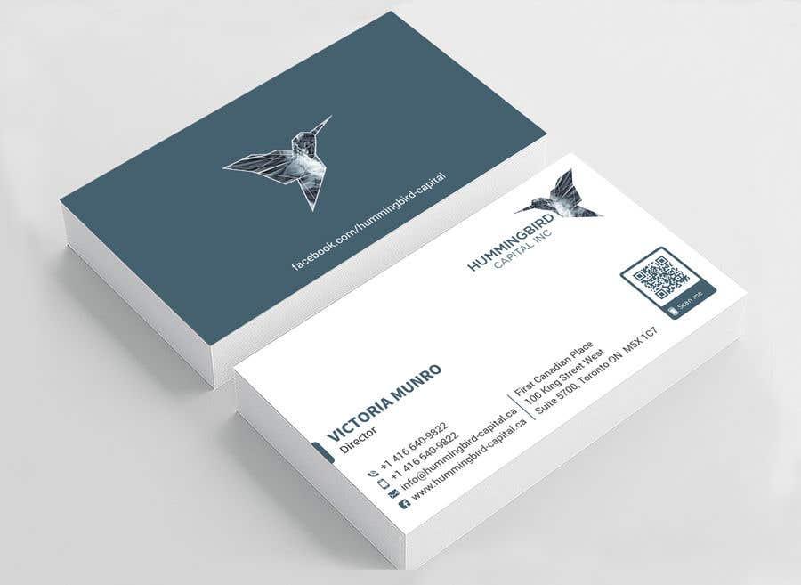 Kilpailutyö #595 kilpailussa Business card