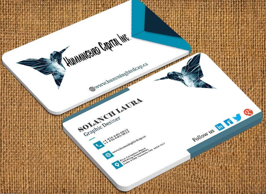 Kilpailutyö #603 kilpailussa Business card
