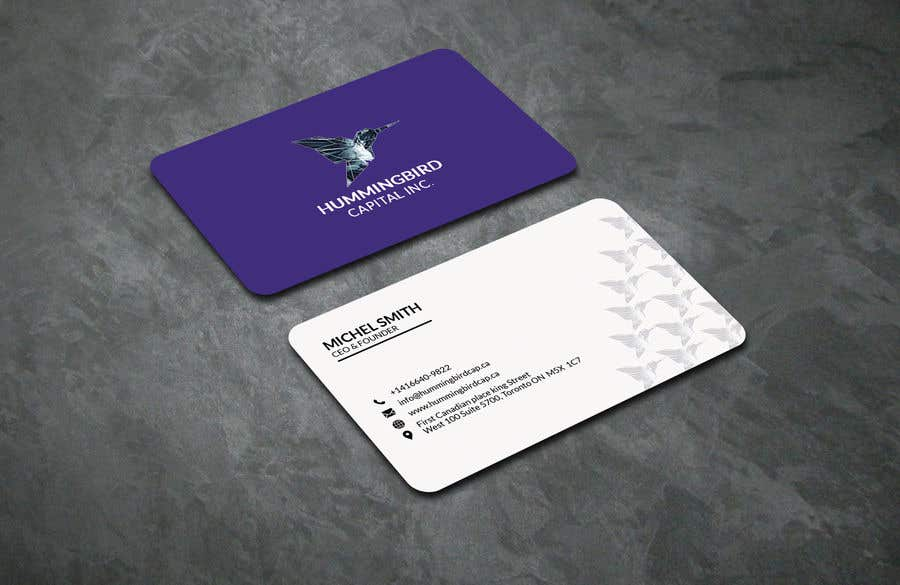 Kilpailutyö #530 kilpailussa Business card