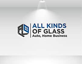 #3 for All Kinds of Glass, Logo Design by naharffk