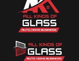 AmazingdESgin tarafından All Kinds of Glass, Logo Design için no 45