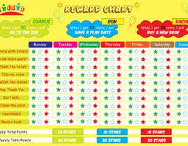 #14 for Design a kids reward chart in a3 size af creatives29