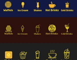 #32 for 5 vector icons for food by ethicsdesigner
