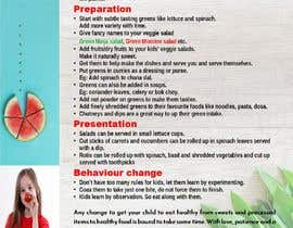 #9 para Design a poster for wellcure - Make Your Child Love Greens. por jilufrancis