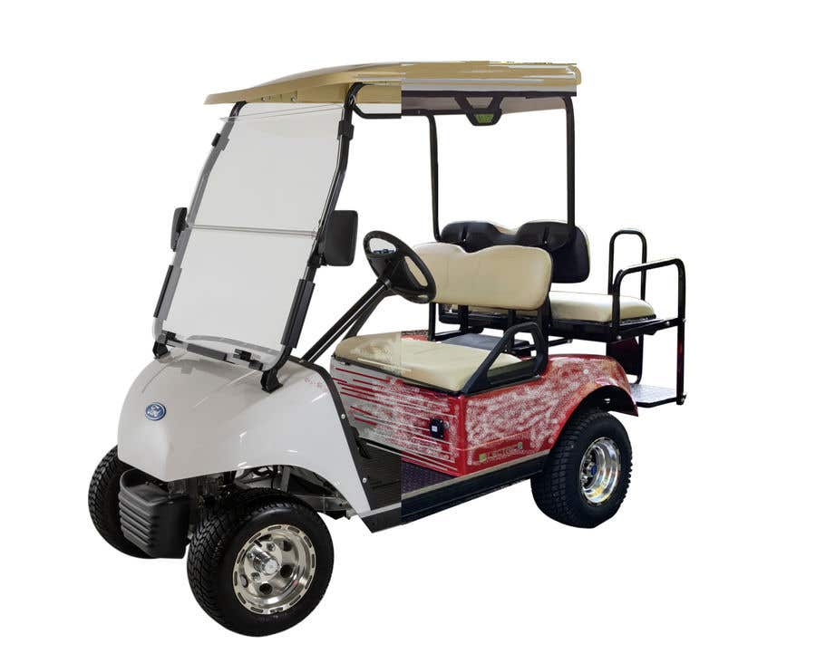 Contest Entry #2 for photoshop changes to golf cart