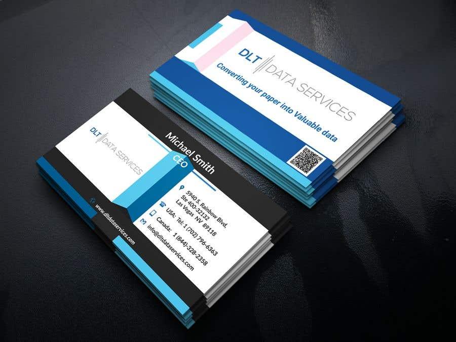 Kilpailutyö #596 kilpailussa Create business card